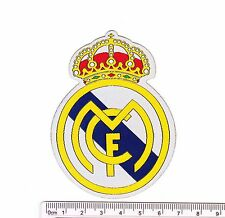 Spain Real Madrid CF soccer football iron-on embroidered patch emblem applique