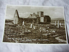 K110 - TOMBS of The KINGS ~ St ORAN'S CHAPEL & CATHEDRAL Isle of Iona POSTCARD