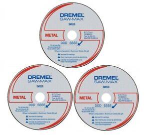DREMEL Saw Max Blade Metal Cutting Wheel SM510C 3pcs For SM20-02 Tool