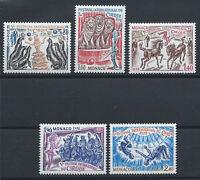Monaco N°1167/71** (MNH) 1978 - Cirque de Monte-Carlo