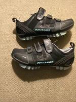 Womens Mountain MTB Race Bontrager cycling shoes size 7.5 Black EUC