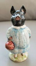 "Beautiful Beswick England Beatrix Potter ""PIG-WIG"" Figurine. Bp3b Backstamp RARE"