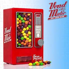 Vend-O-Matic Mini Vending Machine Sweet, Candy, Jelly, Gum, Nuts Dispenser Bank
