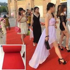 15ft Red Carpet Aisle Runner Wedding Rug Party Festive Floor Decor Stage Setting