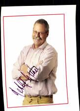 Detlef Buder AUTOGRAFO carta firmato originale # 36946