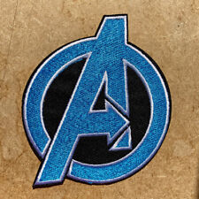 1pc Avengers Embroidered Cloth Iron On Patch captain iron hulk thor black #1047