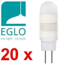 Ensemble: 20x Eglo 78457 G4 Led Bi-Pin 1.3w 90lm Blanc Chaud