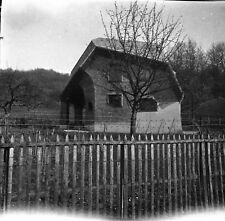 DORNACH c. 1950 - Maison Style Anthroposophique Suisse - Négatif 6 x 6 - Sui 303