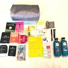 Ulta Makeup Bag and Samples 20 Piece Coach Too Faced Mario Mac Julep Oui Mask