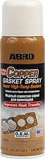ABRO COPPER SPRAY-A-GASKET® ADHESIVE SEALS GASKETS MAKER Super High Temperature