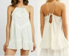Intimately Free People ivory Lingerie Nightgown tunic size M cotton and lace