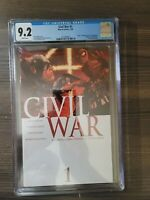 Marvel Civil War Issue #1 Graded CGC 9.2 White Pages