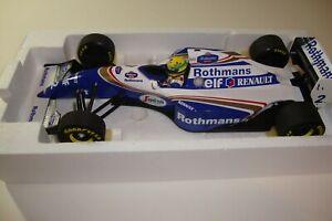 1:18 MINICHAMPS AYRTON SENNA WILLIAMS FW16 1994 BRAZILIAN GP ROTHMANS MARKINGS