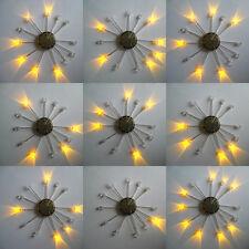 LED's Yellow Flashing 3mm  x 10 LEDs