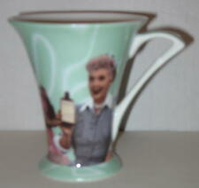 "1999 I Love Lucy 3-Episode Including ""Vitameatavegimin"" Porcelain Cup 4.5"" MIB"