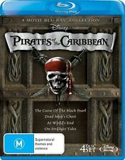 Pirates of the Caribbean Quadrilogy (Curse of the Black Pearl/Dead Man's Chest/A