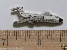 Vintage C-5 Galaxy Transport Airplane Aircraft Pin  (#037) Cloisonne (lg  sz)