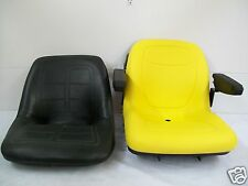 HIGH BACK YELLOW SEAT FITS 650,750,850,950,& 1050 JOHN DEERE COMPACT TRACTOR #JP