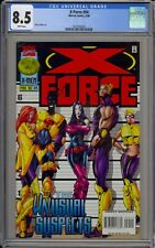 X-FORCE #54 - CGC 8.5 - ADAM POLINA ART - THE UNUSUAL SUSPECTS - 1627033020