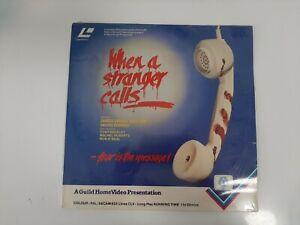Vintage Laser Disc - When A Stranger Calls - New & Sealed
