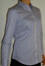 Van Heusen Ladies Tailored Shirt (NEW), Pinstripe-Lilac-Long Sleeve - Size 14
