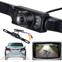 HD Wide Angle License Plate Car Rear View Backup Camera Night Vision Waterproof