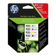 HP 920XL Original Genuine BCMY Set of 4 Multipack Ink Cartridges Officejet 6500A