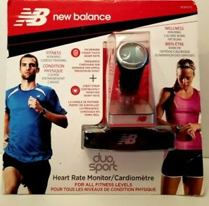 New Balance duo sport Heart Rate Monitor/Cardiometre  New in Original Package