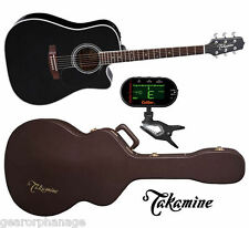 Takamine EF341SC Dreadnought NEW Acoustic Guitar + CASE +TUNER! EF-341 SC
