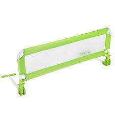 Barrière de Lit Enfant Universelle Barrière Sécurité de lit Portable 102cm Vert