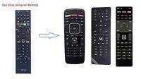 Vizio Universal ALL LED Smart Int Apps TV Remote with Amazon Netflix MGO XRT 112