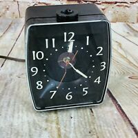 """Vintage Mid-Century Hoyle Products """"High Time"""" Ceiling Projecting Alarm Clock"""