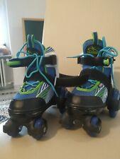Rollschuhe HUDORA Kinder verstellbar Gr. 30-33 Inlineskates Rollerskates