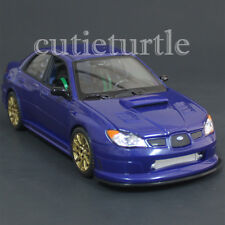Welly 22487 2005 Subaru Impreza Wrx Sti 1:24 Diecast Model Car Blue