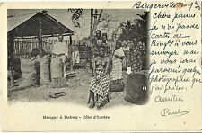 IVORY COAST (BINGERVILLE TO LE HAVRE, YEAR 1903), NICE ETHNIC POSTCARD, COLONIES