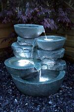 Springbrunnen Cascades mit Beleuchtung B-Ware Gartenbrunnen Wasserspiel