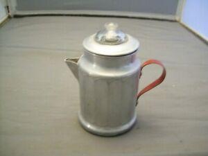 Miniature Usable Aluminum Coffee Percolator---Salesman Sample????