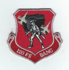 """120th FIGHTER SQUADRON """"BANG""""(BUCKLEY ANG) (THEIR LATEST) patch"""