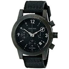 Electric FW02 Polyester Watch Men's All Black