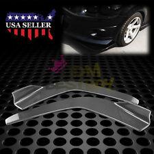 Real Carbon Fiber Type 3 Front Bumper Lip Kit Diffuser Canard Splitter  BLS04CF