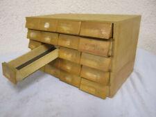 Apothekerschrank Werkstattschrank Industriedesign Loft Schubladenschrank alt
