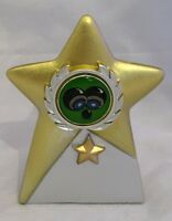 Lawn Bowls Star Trophy 105mm Engraved