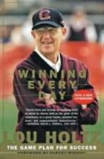 Winning Every Day: The Game Plan for Success, Lou Holtz, 0887309534, Book, Good