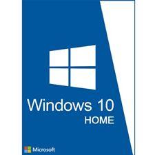 MICROSOFT Windows 10 Home 32/64 bit originale codice di licenza CODICE DI ATTIVAZIONE DEL PRODOTTO