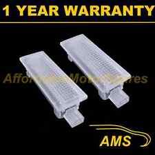 2x per BMW 7 Serie F01 F02 18 LED penetrazione del pavimento Boot DOOR Courtesy PORTAOGG Lampada