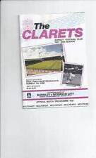 Norwich City Football League Cup Fixture Programmes (1980s)