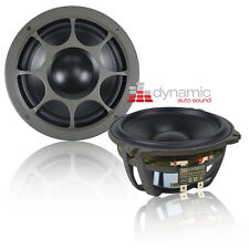 "Morel HYBRID MW5 Car Audio 5.25"" Hybrid Series Mid-Bass Woofers 500W Pair New"