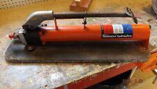 HOLMATRO HYDRAULICS F. TW-1600 Hydraulic Manual Backup Foot Pump