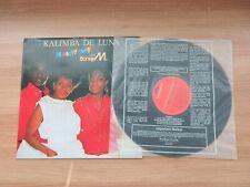 Boney M – Kalimba De Luna 16 Happy Songs 1985 Edit Cover LP RARE Korea Record