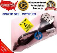 0P872P DELL OPTIPLEX 980 DT FRONT I/O CABLE ASSEMBLY AUDIO USB HEADPHONE